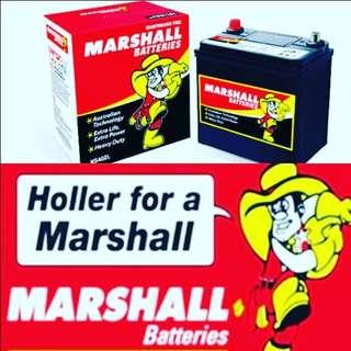 Marshall Battery NS40