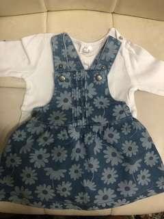 Romper bayi/ overall bayi/ baju bayi / dress baby