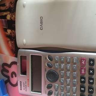 Casio fx-3650 計數機