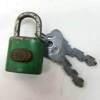 Diamond brand lock
