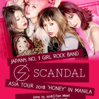 Looking for SCANDAL HONEY ASIA TOUR MANILA: Emperor's Pass Tickets