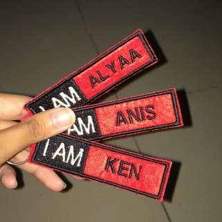 I AM keychain