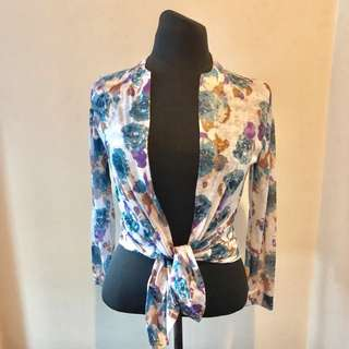 Floral Light Cardigan