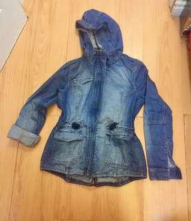 Parka maong jacket
