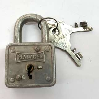 Manager brand lock