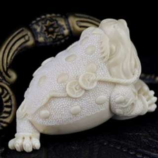 (Certitifed) Ivory Golden Toad