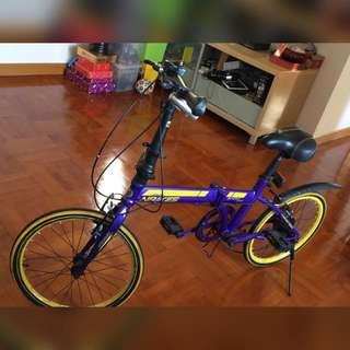 「9成新」輕便摺合轉波單車