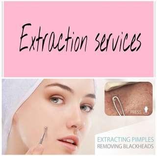 Facial, Extraction