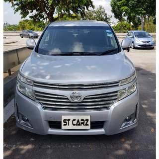 NISSAN ELGRAND 2.5A FOR RENT!