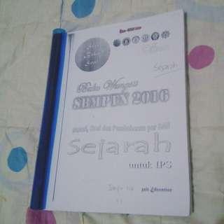 Fotocopy Buku Soal Wangsit SBMPTN IPS Soshum