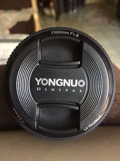 Yongnuo 50mm
