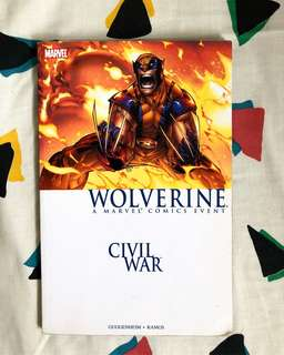 Civil War: Wolverine Comic