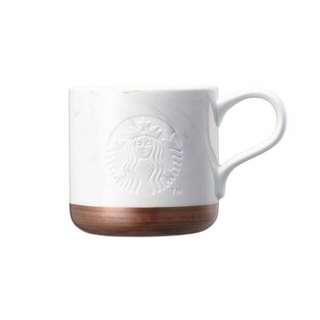 Starbucks Korea Marble White Mug 355ml