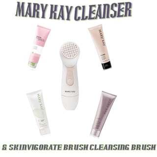 Cleanser + Skinvigorate Cleaning Brush