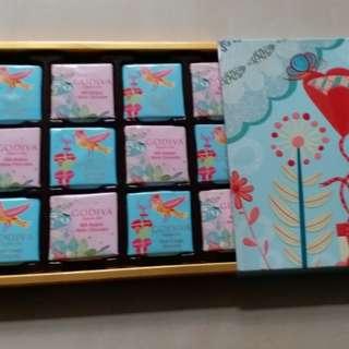 Godiva Chocolate 朱古力 一盒 (平售)