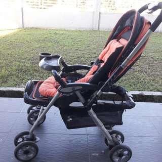 1.Stroller Twin  2.Stoller Single