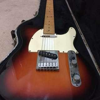 Fender 50th Anniversary Telecaster Sunburst 1996