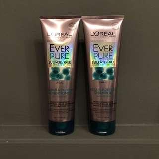 🆕 L'oréal Everpure Repair & Defend Shampoo / Conditioner