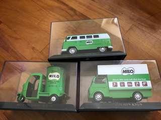 Milo collectible van