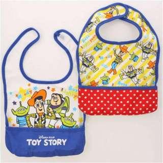#預購 . 新款 Disney Baby 口水肩 兩件套裝 #米奇 #米妮 #小熊維尼 #TOYSTORY