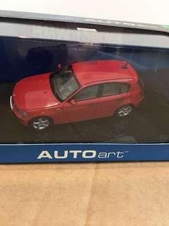 1/43 BMW 1 Series. AutoArt