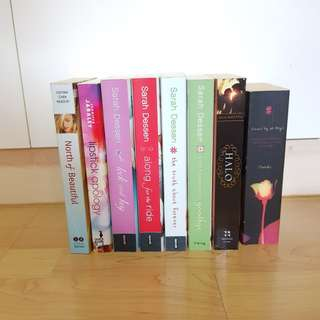 Fiction books (assorted)