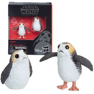 Star Wars The Black Series Porg 6-Inch Scale Action Figure Set Hasbro