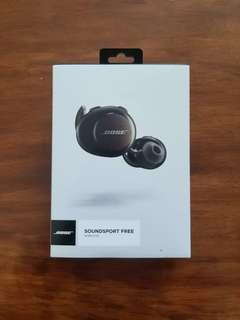 99.9% NEW Bose Soundsport Free Wireless Earphone Sport Gym Workout 運動 無線