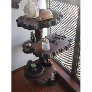 4-Tier Display Wooden Unit (Can be dismantled)