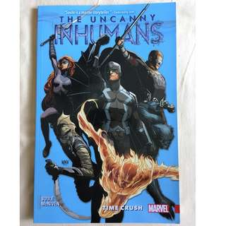 Uncanny Inhumans Time Crush Trade Paperback