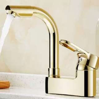Luxury Gold Sink Faucet