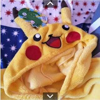 皮卡丘 造型 睡衣 寶可夢