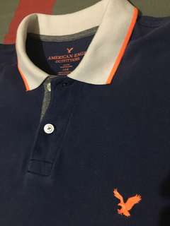 American Eagle Polo Shirt (Color Block)