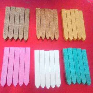Wax for wax stamp