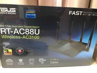 Asus RT-AC88U Router (New and Seal)