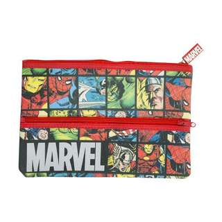 Multifunction Marvel Superheroes Large Pencil Case/Makeup Pouch