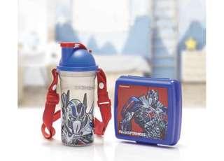 Transformers Tupperware Lunch Set
