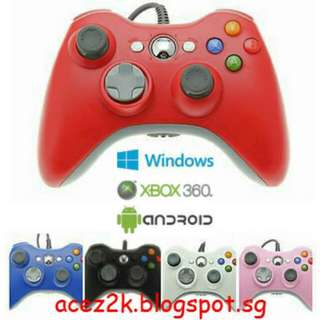 [BN] Xbox 360 / PC / Android Wired Controller (Brand New)
