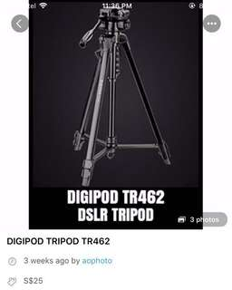 Used only once- Tripod
