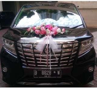 Rental mobil Alphard Transformer di Jakarta (wedding/non-wedding), murah dan elegan. Hubungi Nemob.id