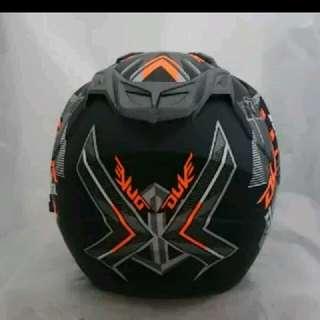 KTM duke black doff helmet