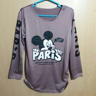 Mickey long sleeves