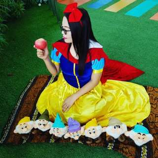 Snow White Costume for Adult- For Rent