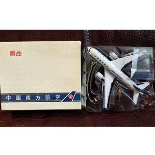 中國南方航空 飛機模型贈品
