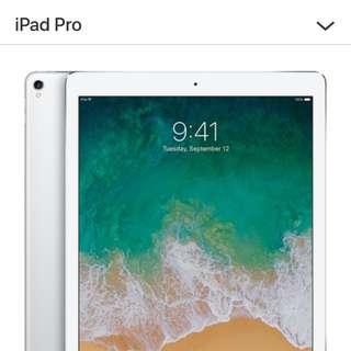 """BNIB Apple iPad Pro 12.9"""" Silver 256GB Gen 2 WI-Fi"""