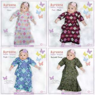 Baju Kurung Budak Peplum Songket