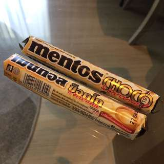MENTOS white chocolate
