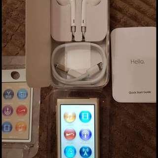 ipod nano 7thgen 16gb complete