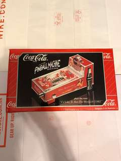 Coca Cola collectible pinball machine musical bank