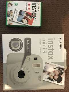Fujifilm instax mini 9 camera and film!